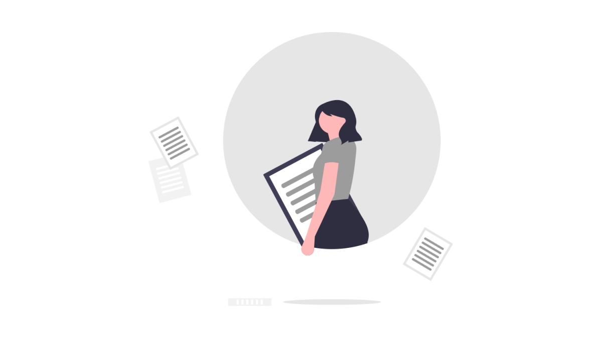 事務作業の業務マニュアルについて解説している記事のイメージ画像です。